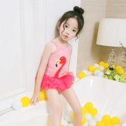 Girls swimsuit princess dress style swimsuit Siamese Children Children Korea fast dry Infant Baby swimsuit swimsuit