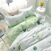 The student dormitory of three sets of single bed 1.5 meters 1.8m lovely bed linen bedding quilt four sets