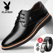 Men's business mens shoes dandy round winter cotton leather casual shoes increased 6cm