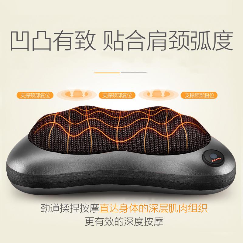 诺嘉按摩枕按摩器颈椎腰部车载电动按摩枕头