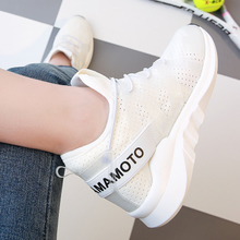 Sports shoes in spring and summer. The black lady net middle-aged father shoes running shoes sports shoes.