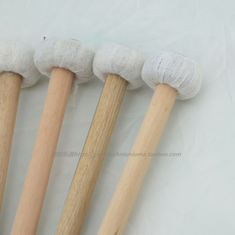 Percussion hammer percussion accessories wooden handle rod hammer hammer Sizhu Gong Gong professional 1 20 bags of mail
