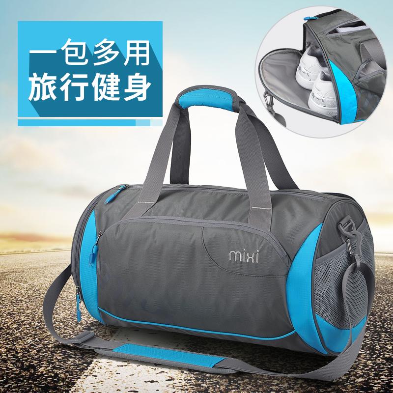 运动包健身包单肩旅游包行李袋圆筒包