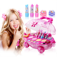 Children's cosmetics box show special child makeup lipstick eye shadow Princess suit Foundation