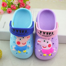 The new children's slippers summer Disney Crocs boys slippers sandals Crocs beach girls shoes