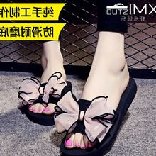 Female student summer sandals a drag toe flat with Han sweet soft bottom slipper comfortable new special offer