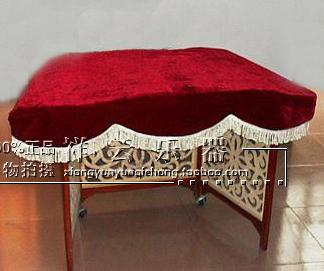 Thick dust cover cloth cover dulcimer dulcimer dulcimer dulcimer dulcimer strings Phi 402 red wine green