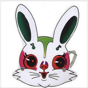 动物头饰◆面具◆角色演出◆表演头饰◆小白兔头饰◆小兔子头饰