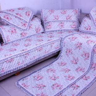 田园亚麻沙发垫布艺时尚防滑坐垫棉麻高档欧式皮沙发
