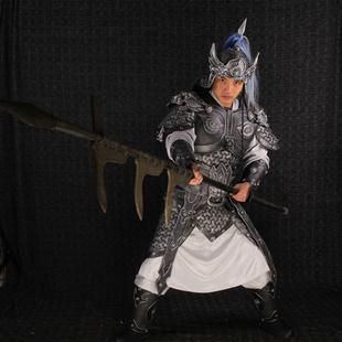 金霓三国将军铠甲cosplay古装赵云铠甲中国古代将军服装盔甲可穿