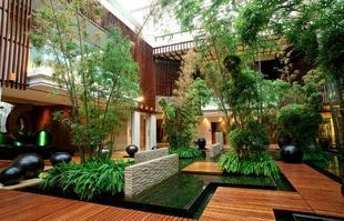 中庭花园(四合院,三合院,庭院)园林景观设计优惠图片