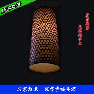手工编织直筒灯笼 打造儿童睡眠灯 客厅灯 床头灯