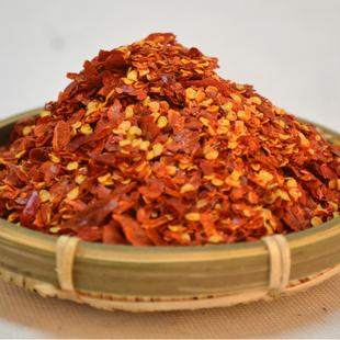 湖南特产手工制作烧烤调料农家干辣椒面辣椒粉油泼辣子油300g热卖