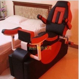 白丝v情趣红椅-1情趣椅合欢椅酒店椅性爱家具家居红椅送护士视频情趣实木椅子装图片