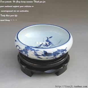 景德镇陶瓷笔洗
