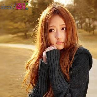 包邮中分假发长卷发蓬松新款中长发女生圆脸短发型jiafa刘海帅气