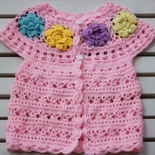 手工编织宝宝毛衣裤
