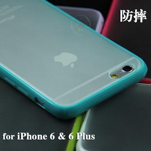 iphone64.7防摔防掉漆全包磨砂手机壳硅胶6plus5.5苹果保护套pe珠光袋图片