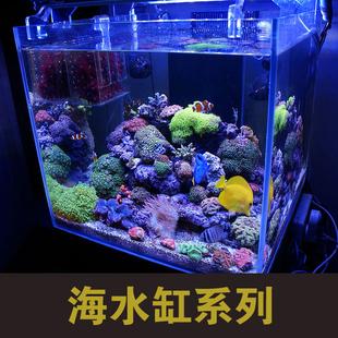 定做海水缸 正方形海水缸 深圳海水缸 蛋分底滤 鱼缸底滤香港鱼缸图片