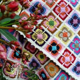 欧式民族风手编钩花地毯床单沙发垫 客厅卧室门垫子创意个性定制