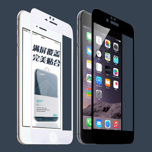gor旗杆正品6钢化膜全屏覆盖iphone6plus全满屏钢化玻璃膜背膜美国旗苹果图片