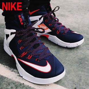 耐克男鞋 lebron詹姆斯使节8战靴 zoom气垫篮球鞋818678 -001-416图片