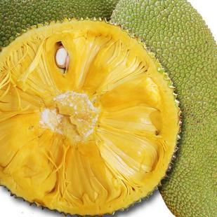 海南特产_海南特产热带水果 新鲜菠萝蜜 大树菠萝 木菠萝 现摘20斤起拍