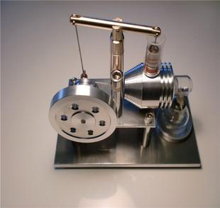 科技小制作斯特林天平发动机模型物理实验玩具蒸汽机模型教学器材