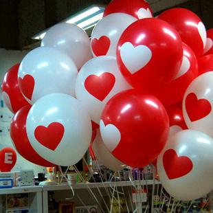 礼品气球毛条彩带拉花气球床上用品