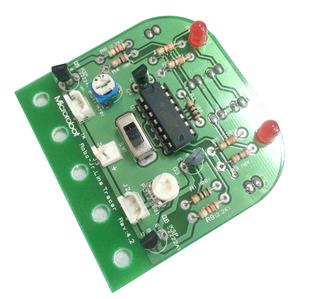 巡线车线路板 循迹小车 机器人套件电子套件 diy电子焊接diy玩具