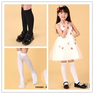 春秋过膝学生校服袜堆堆袜男球袜 女儿童长筒袜中筒 丝袜子白批发