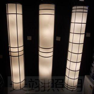 现代简约创意酒店大堂柱子工程墙壁灯室外户外灯露台庭院欧式灯具