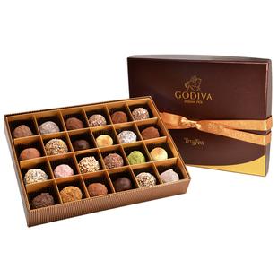 香港代购 godiva歌帝梵巧克力松露礼盒24颗情人节生日礼物零食
