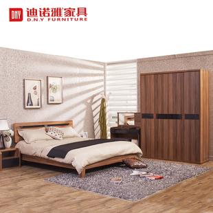 8米实木床衣柜六件套特价
