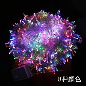 led彩灯闪灯串灯满天星户外防水过年圣诞节日婚庆装饰布置小彩灯