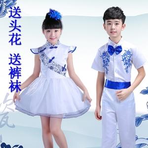 古筝表演服装演出服