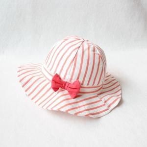 儿童帽子春秋女童太阳帽公主帽女宝宝双层纯棉布帽女童遮阳帽盆帽