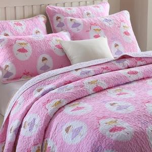 床蓋三件套外貿純棉兒童绗縫被夾棉床單全棉夏涼被空調被特價
