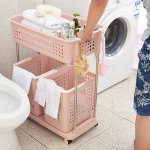 浴室臟衣籃收納架塑料多層臟衣籃置物架臟衣服收納筐收納籃臟衣簍
