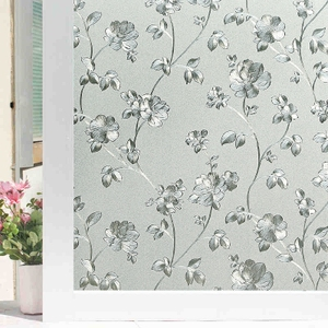 静电遮光窗花贴玻璃纸卫生间浴室窗户贴纸透光不透明玻璃贴膜防透