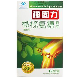 橄固力牌橄榄氨糖颗粒(香橙味) 5g/袋*15袋/盒