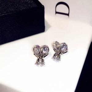 韩国百搭五角星宝石锆石水晶玻璃球前后耳钉女两用流沙双面耳环逆变直流气质电焊机图片