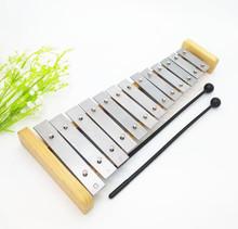 13 звук алюминий гусли фортепиано деревянный дерево гусли заумный твой муж ребенок удар музыкальные инструменты небольшой колокол гусли музыка учить инструмент