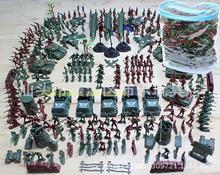 Бесплатная доставка два война военный солдат модель установите PVC мешок 307 костюм 4 см небольшой солдат пластик игрушка