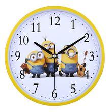 Бесплатная доставка настенные часы гостиная супер - молчание вешать стол творческий часы ребенок мультики спальня часы современный простой кварц колокол