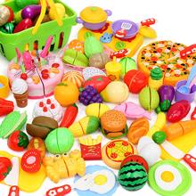 Ребенок вырезать фрукты и овощи игрушка музыка торт живая домой домой кухня комбинированный набор ребенок девушка мальчик