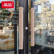 Ручка двери простыни юань ворота стекло двери обрабатывать крышка ткань защитный кожух холодный авария антистатический утолщённый сохраняющий тепло