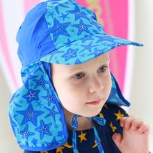 Ребенок шапочка для купания группа прилегает к затенение шапочка для купания приморский песчаный пляж купание ребенок солнцезащитный крем ветролом эластичность шапочка для купания
