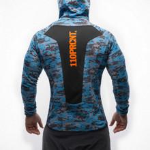 Новый мышца братья свитер быстросохнущие воздухопроницаемый печать хеджирование рубашка GYM фитнес бег движение тонкий закрытый пальто