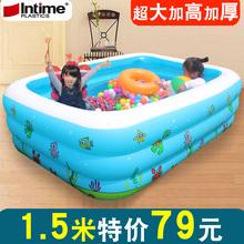 Сгущаться газированный плавательный бассейн ребенок морской мяч бассейн ребенок ребенок ребенок купание негабаритных домой для взрослых ванна бассейн